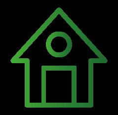 Icon-Symbol für Dächer und Fassadenverkleidungen