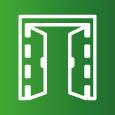 Icon-Symbol zum Thema Fenster und Türen