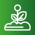 Icon-Symbol zum Thema Garten- und Landschaftsbau